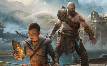 God of War - Kratos e Atreus Wallpaper