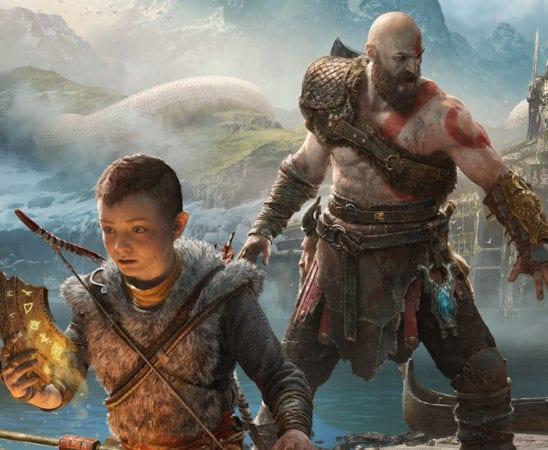 God of War - Kratos e Atreus Wallpaper