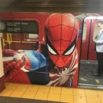 Spider-Man PS4 Subway