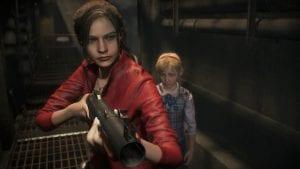 Resident Evil 2 Gamescom 2018 Claire Sherry