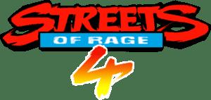 Streets of Rage 4 Logo