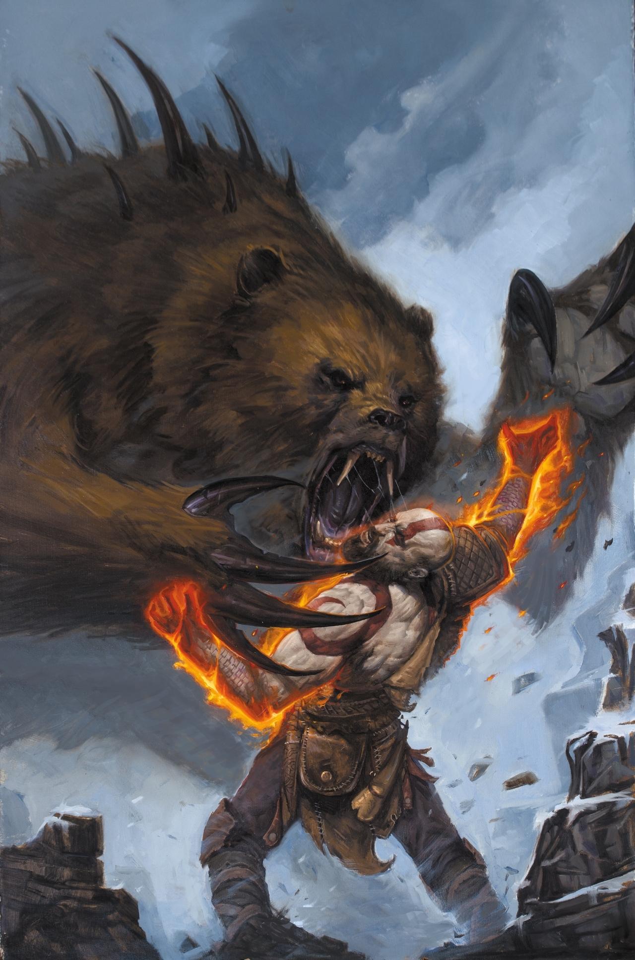 God of War HQ Comic