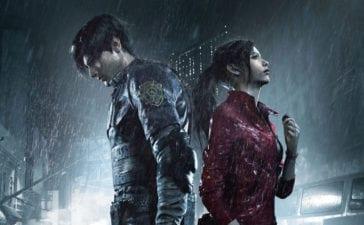 Resident Evil 2 Remake Gamescom 2018 Art Leon Claire
