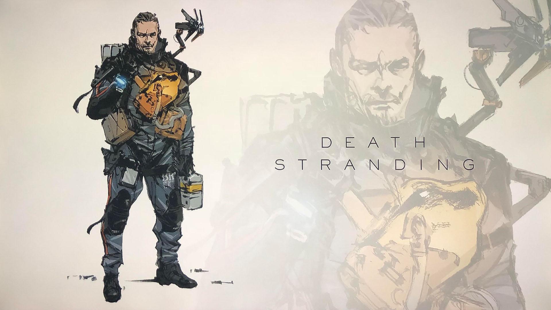 Death Stranding Yoji Shinkawa Art