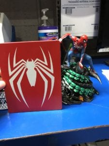 Spider-Man Statue Collectors Edition