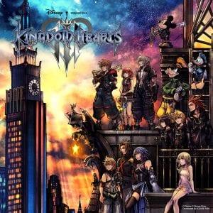 Kingdom Hearts 3 Tetsuya Nomura Art