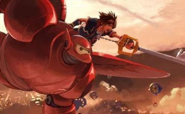 Kingdom Hearts 3 Sora Baymax
