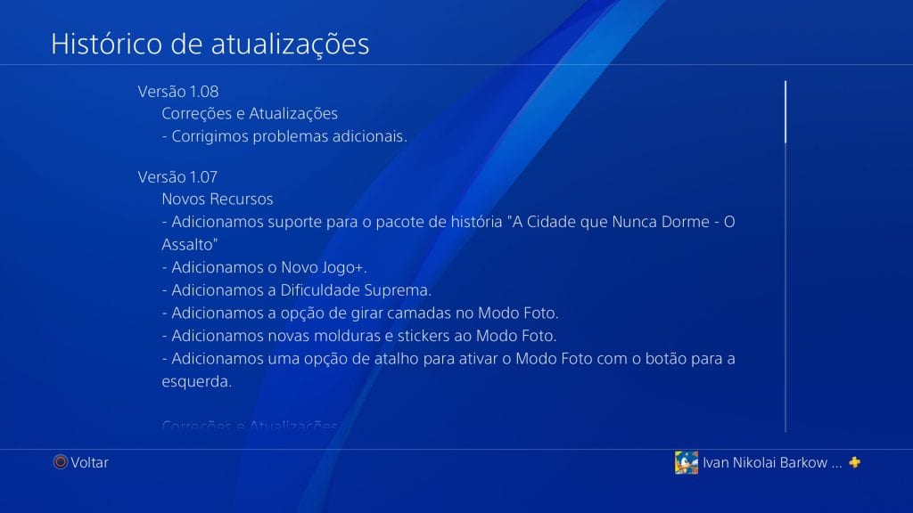 Spider-Man Patch Notes 1.08