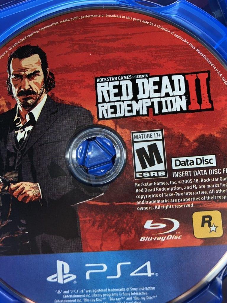 Red Dead Redemption 2 Discos Discs
