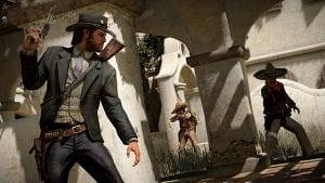 Ação em Red Dead Redemption 2