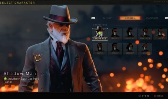 Call of Duty Black Ops 4 Shadow Man