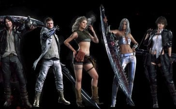 Devil May Cry 5 Costumes Alternative Roupas Alternativas
