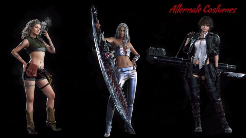 Devil May Cry 5 - Lady Trish Nico Alt Costume