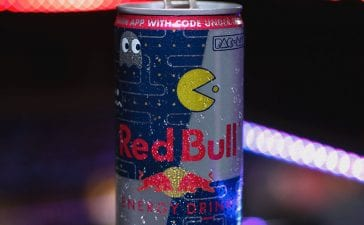Pac-Man Red Bull