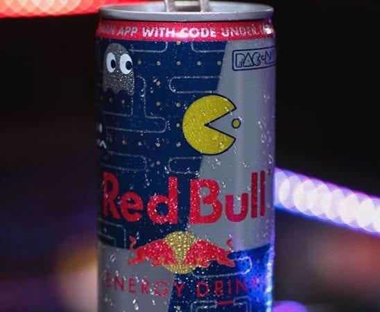Pac-Man Red Bull