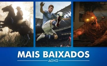 PS Store Mais Vendidos Outubro 2018