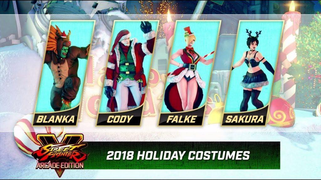 Street Fighter V Natal 2018