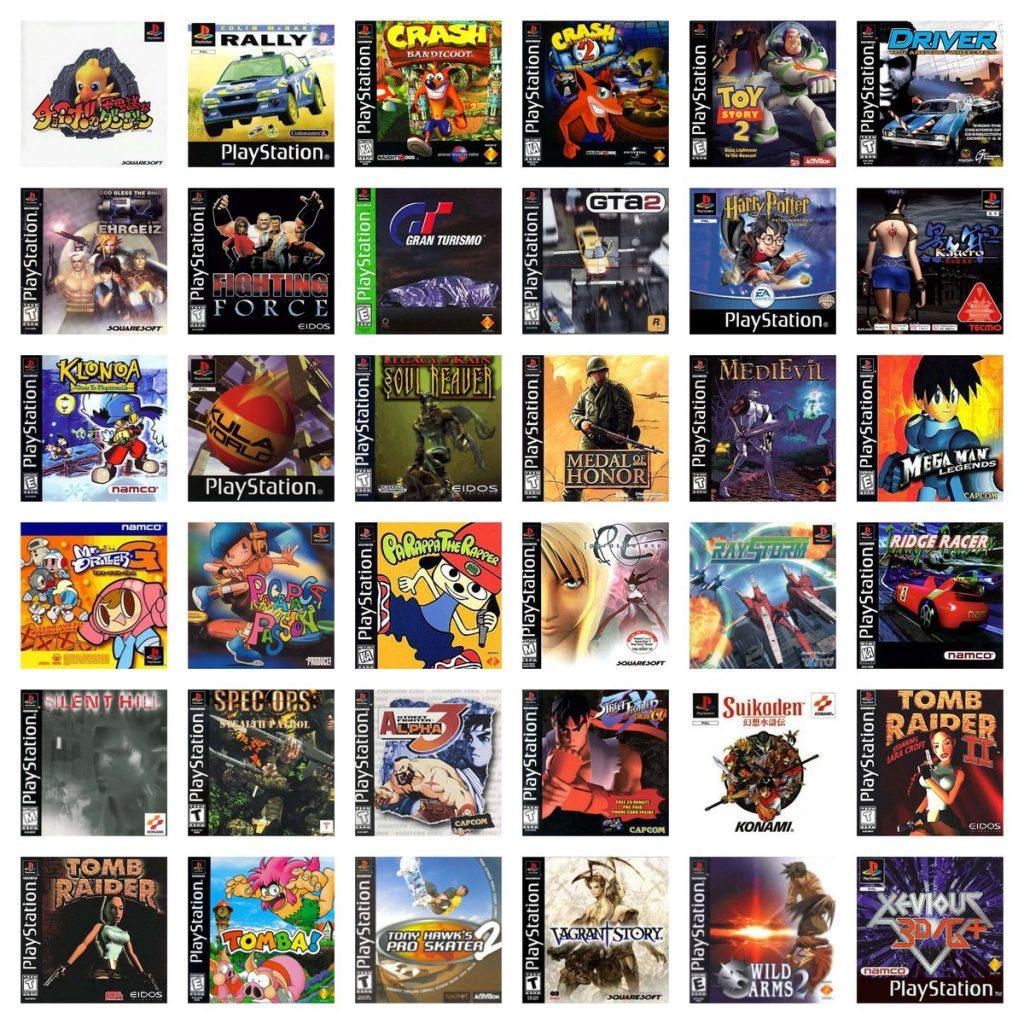 PS Classics 36 Games