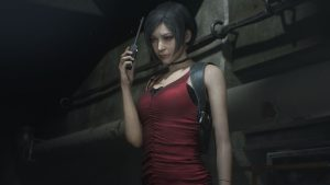 Resident Evil 2 Ada Mr X Sherry