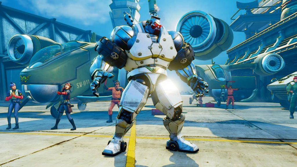 Street Fighter V Mech Abigail