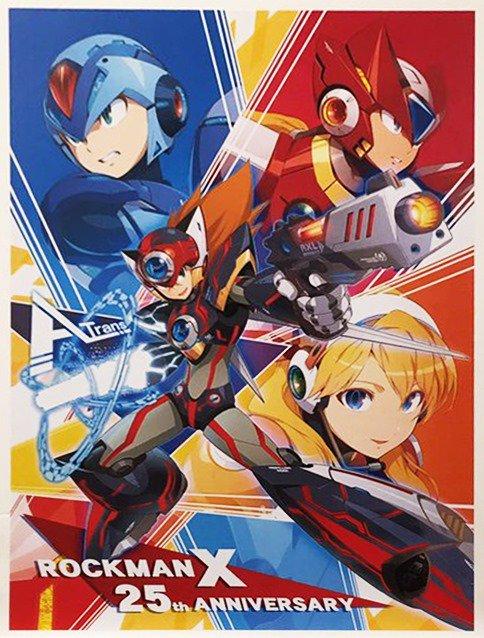 Mega Man X 25 anos