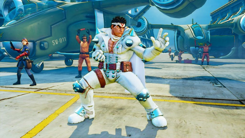 Street Fighter V Ryu Jin