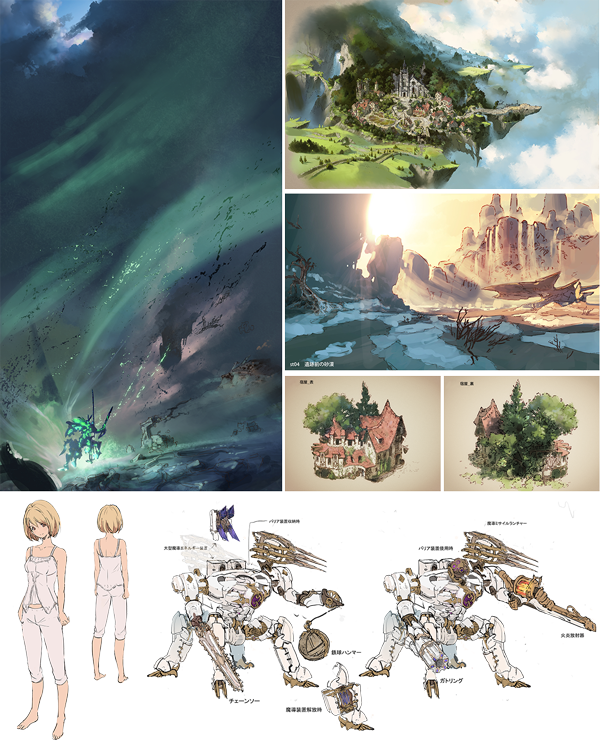 Granblue Fantasy: Relink Artwork
