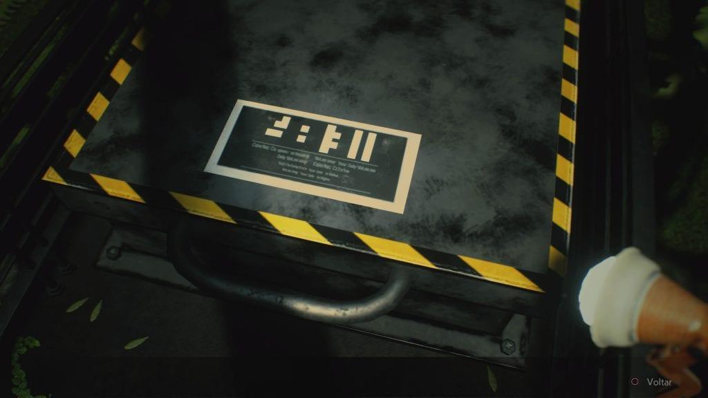 Resident Evil 2 - Código Estufa