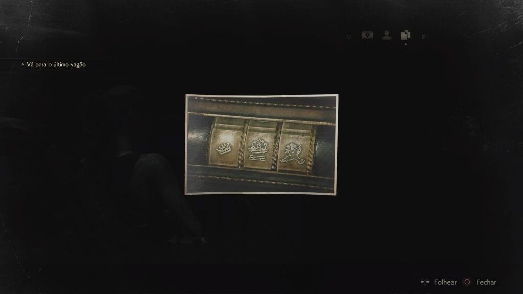 Resident Evil 2 - Estátua Solução Puzzle Leão
