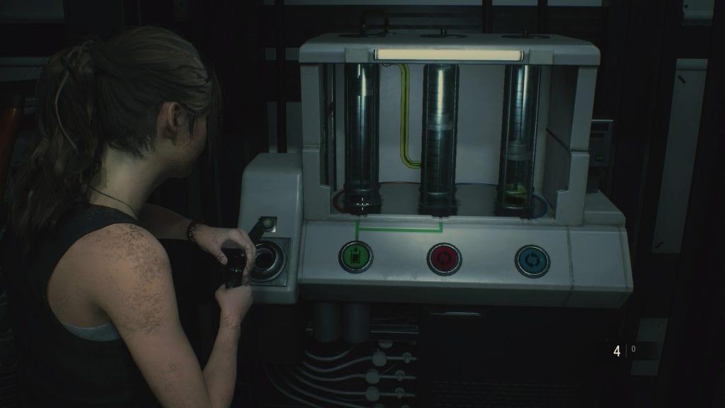 Resident Evil 2 - Solução Puzzle Herbicida