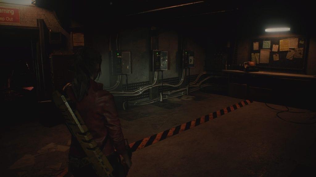 Resident Evil 2 Puzzle Xadrez
