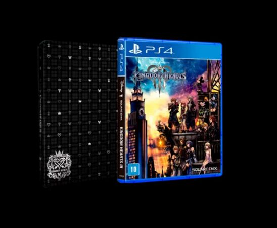 Kingdom Hearts 3 Steelbook
