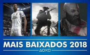 PS Store Mais Vendidos 2018