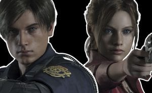 Resident Evil 2 Leon Claire Gameplay