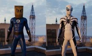 Spider-Man Quarteto Fantástico