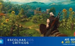 PS Store Promoção Escolhas dos Críticos