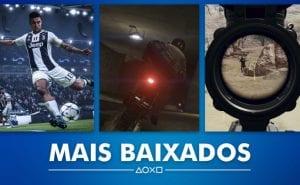 PS Store Mais Vendidos Janeiro 2019