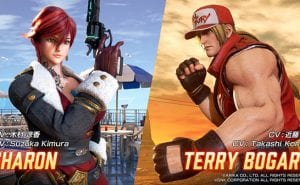 Fighting EX Layer Sharon Terry Bogard