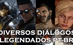 Mortal Kombat 11 Diálogos