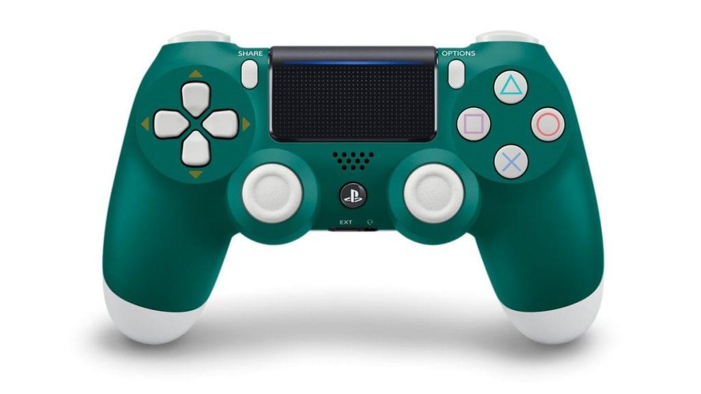 Alpine Green DualShock 4