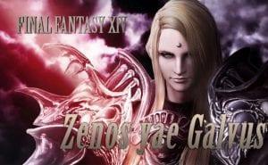 Dissidia Final Fantasy NT Zenos