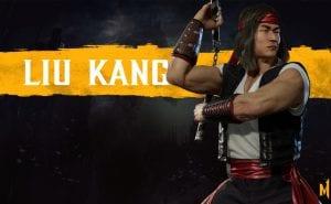 Mortal Kombat 11 Liu Kang