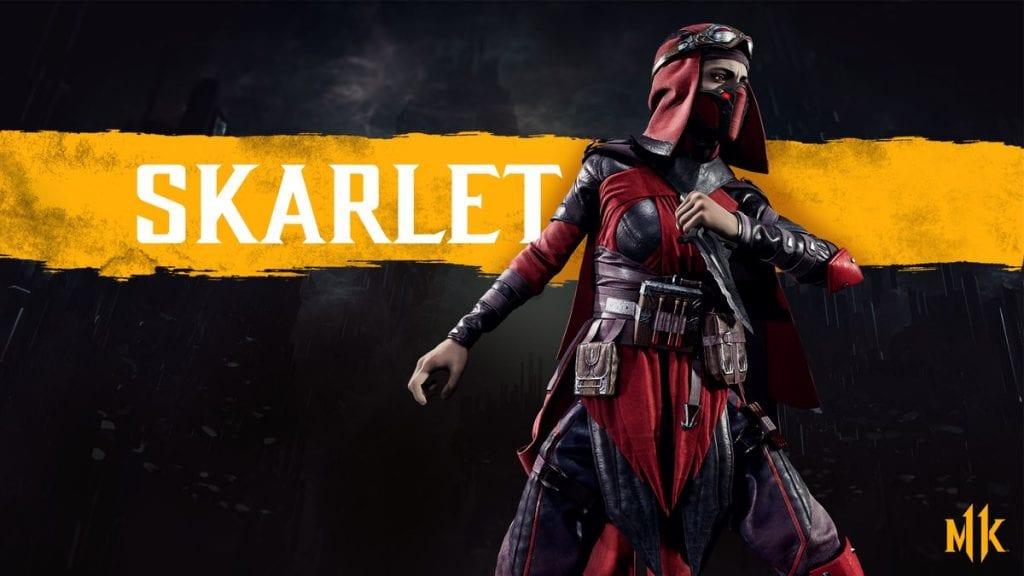 Mortal Kombat 11 Skarlet
