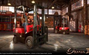 Shenmue 3 Forklift