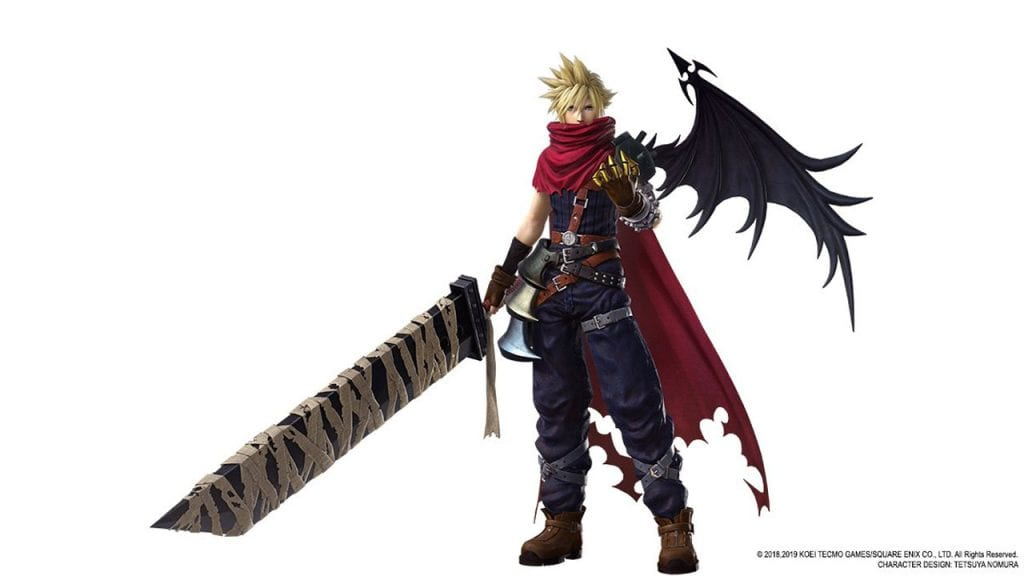 Cloud Dissidia Final Fantasy NT