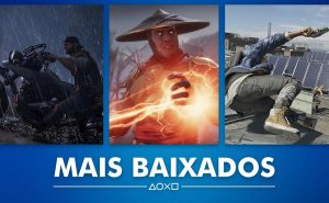 PS Store Mais Baixados Abril 2019