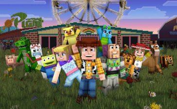 Minecraft Toy Story