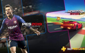 PS Plus Julho de 2019