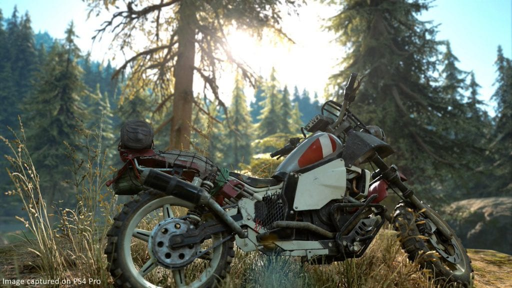 Days Gone Moto Uncharted