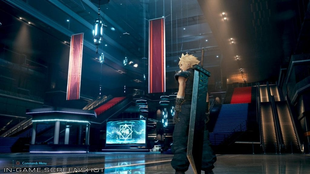 Shinra Building de Final Fantasy VII Remake